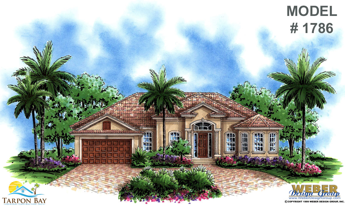 Home Model # 1786 Front View