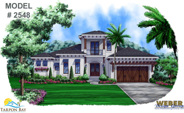 Home Model 2548 - Front View