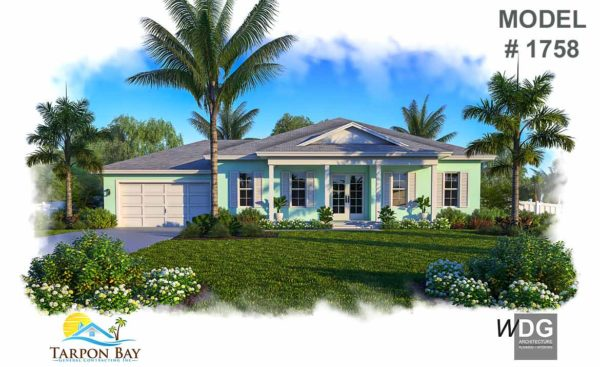 Home Model # 1758 Front View